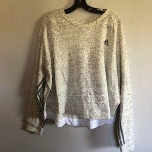 Adidas Cropped Sweatshirt with Side Splits - NWT